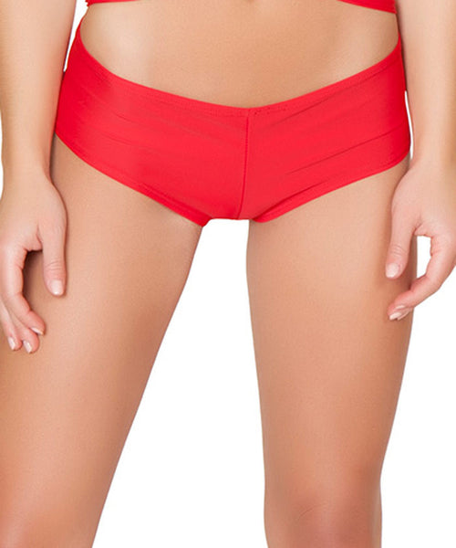 Red Basic Short