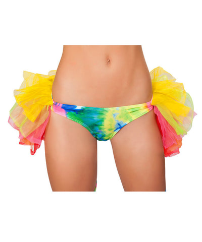 Rainbow Tie-Dye Half Back Petticoat Bottoms