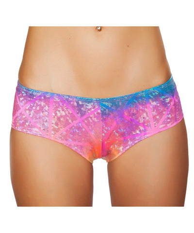 Rainbow Laser Shimmer Boy Shorts