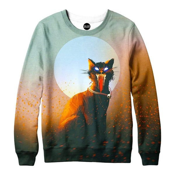 Screaming Cat Sweatshirt