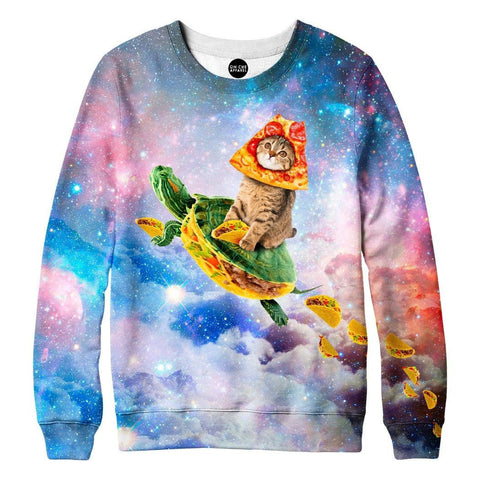 Turtle Taco Cat Sweatshirt
