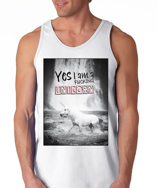Unicorns Exist Tank Top