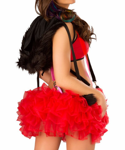 Red Suspender Tutu