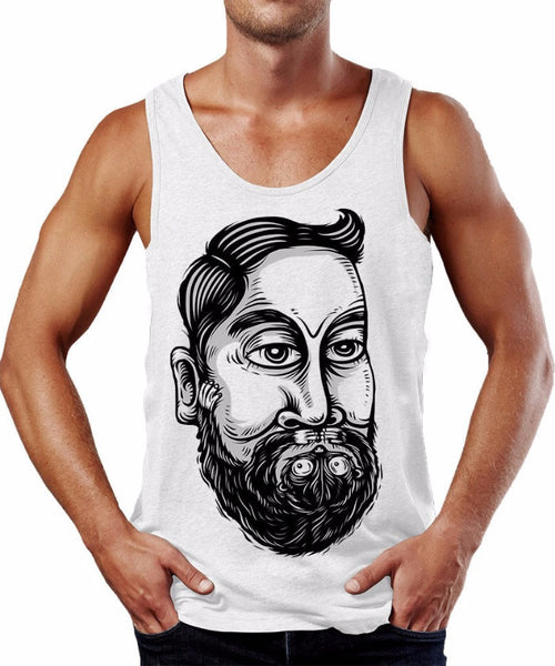 Beard Friend Tank Top