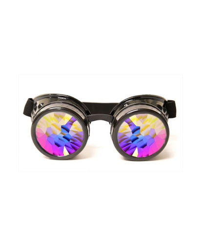 Nighthawk Black Kaleidoscope Goggles