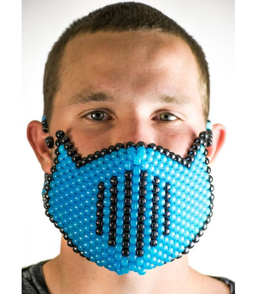 Blue Vented Full Size Mask *Glow In The Dark*