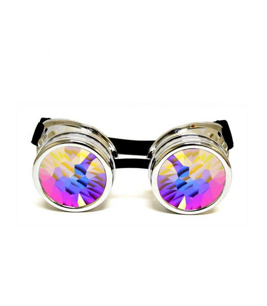 Chrome Kaleidoscope Goggles