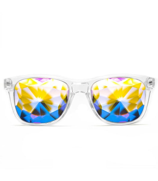 Clear Ultimate Kaleidoscope Glasses