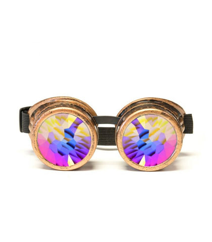 Copper Kaleidoscope Goggles