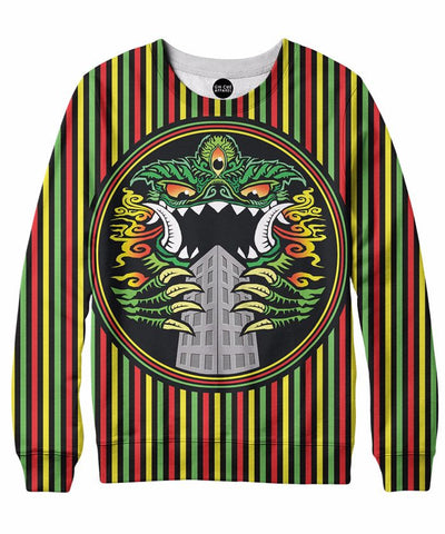 Hungry Kaiju Crewneck Sweatshirt