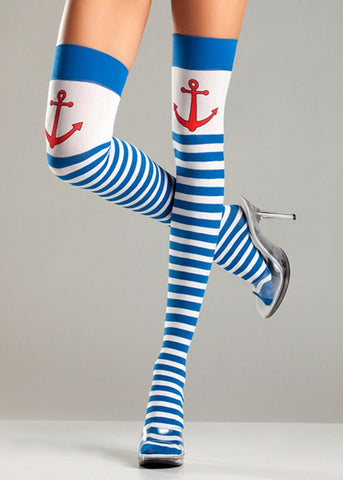 Anchors Away Thigh Highs
