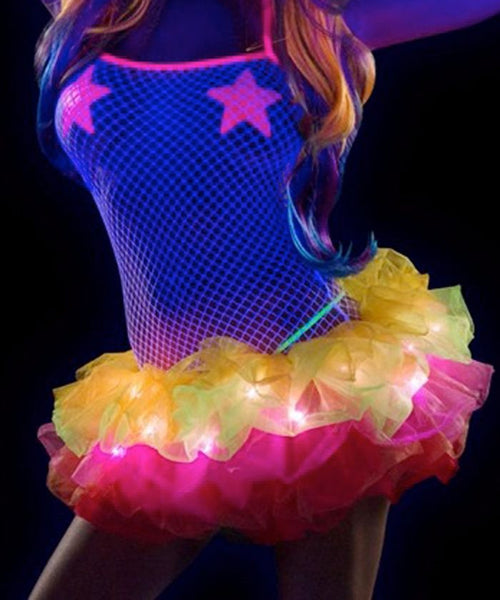 Rainbow Light Up Tutu