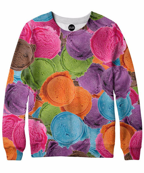 Ice Cream Heaven Crewneck Sweatshirt