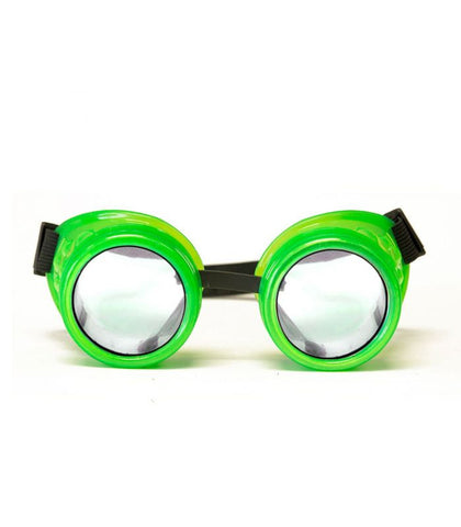 Green Glow Diffraction Goggles