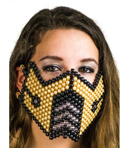 Gold Sub Zero Full Size Mask