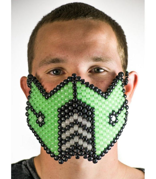 Green Sub Zero Full Size Mask *Glow In The Dark*