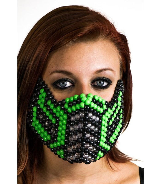 Green Sub Zero V.2 Full Size Mask