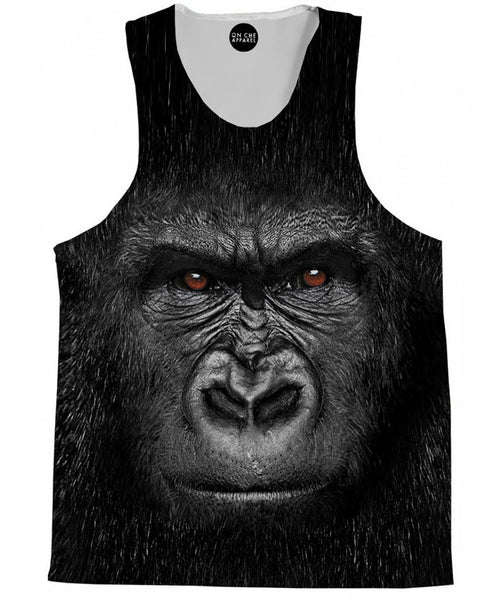 Harambe Face Tank Top