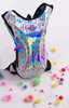 Holographic Disco Hydration Backpack