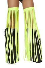 Lime Fringe Leggings