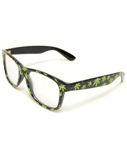 Green Leaf Diffraction Glasses *Limited Edition*