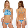 Blue Tie Dye Swimsuit