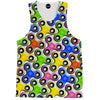 Colorful Fidget Spinner Tank Top