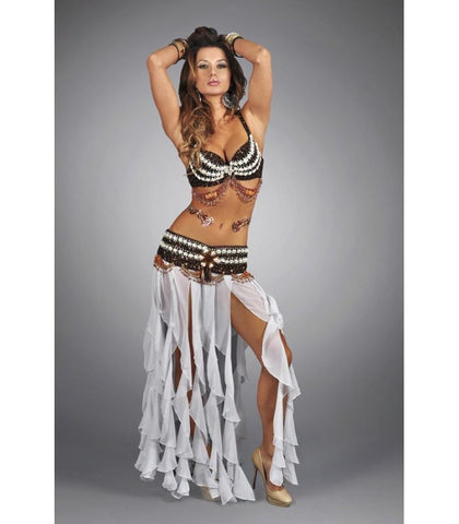 Tribal Sequin Seashell Bra