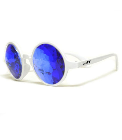 White Kaleidoscope Glasses