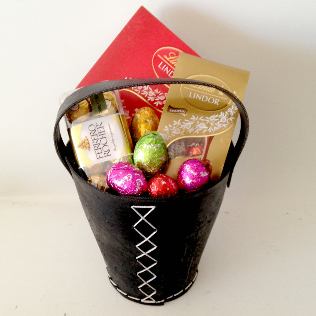 All products easter baskets gift baskets galore perth wa men bunnies choose beer 12000 easter choc bucket negle Images