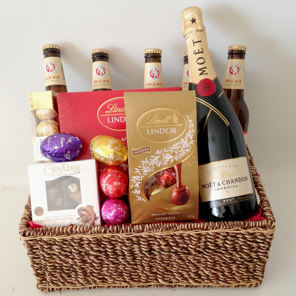 Gift baskets perth gift baskets galore perth wa men crates australia a moet beer easter negle Images