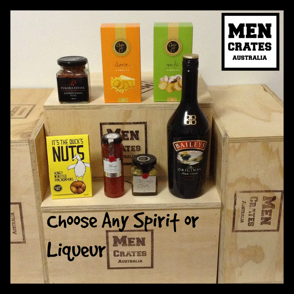 Antipasto Man Gift Crate