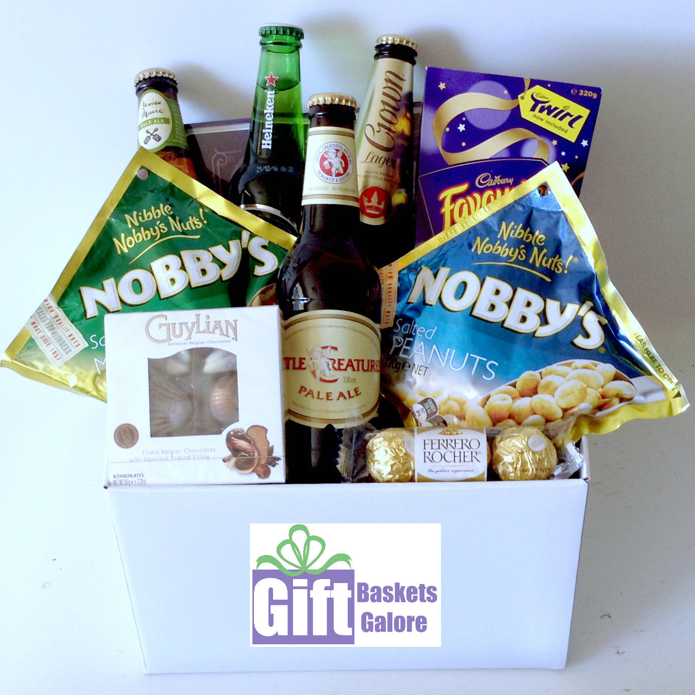 Beer Treats Gift Basket