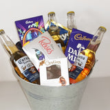 Beer and Chocolate Gift Bucket (OUT OF STOCK)
