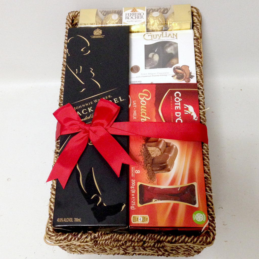 Black Label Chocolate Basket