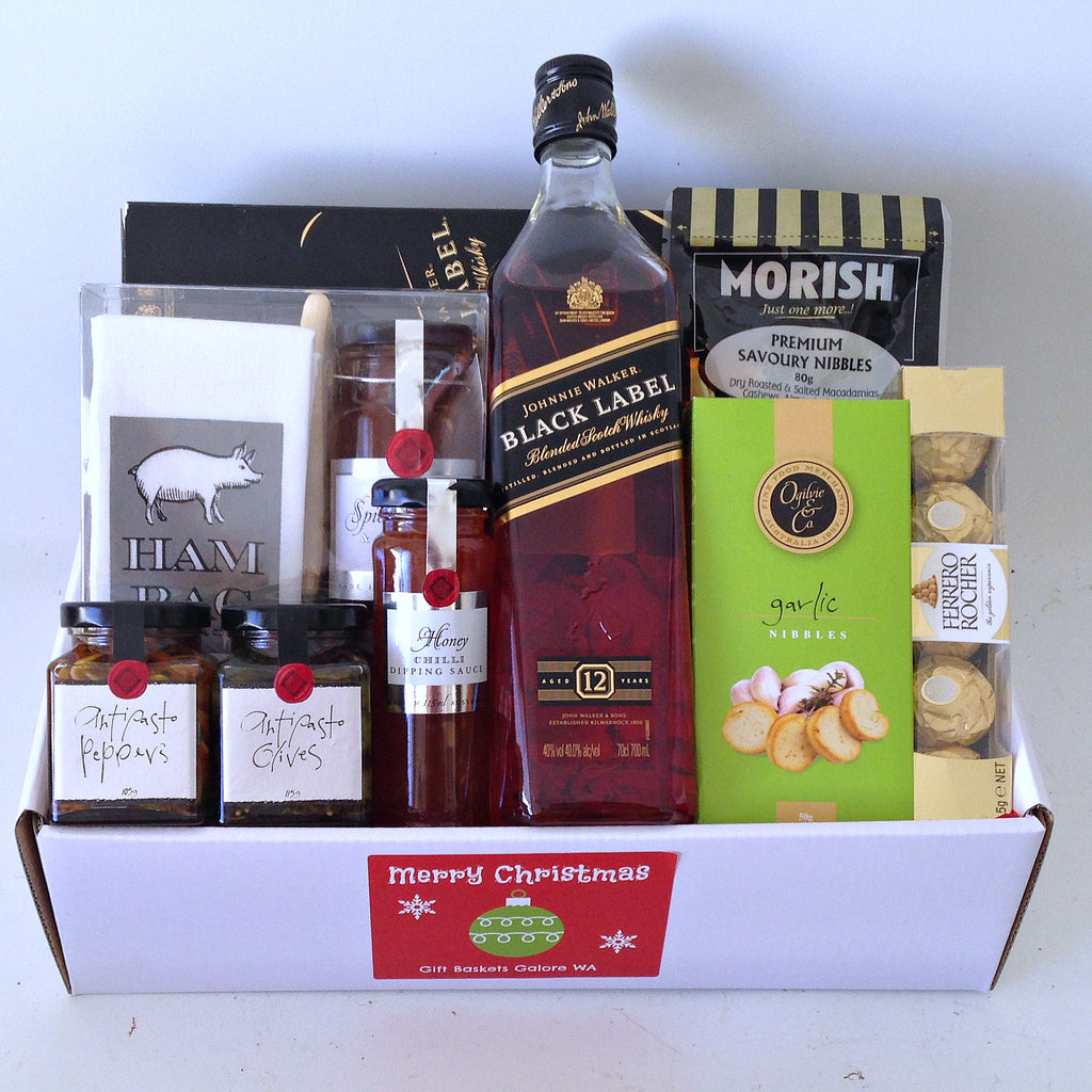 Black Label Christmas Box