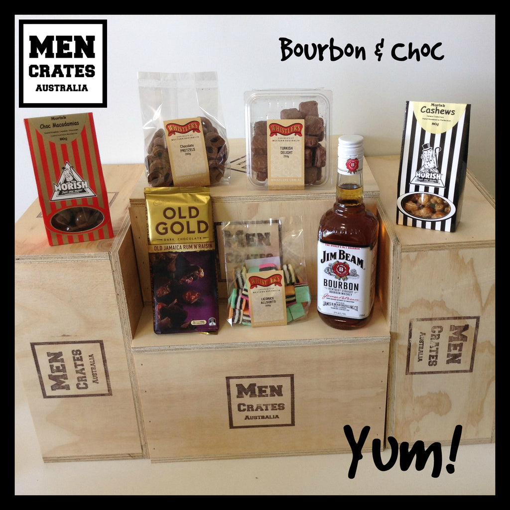 Bourbon & Chocolate Crate