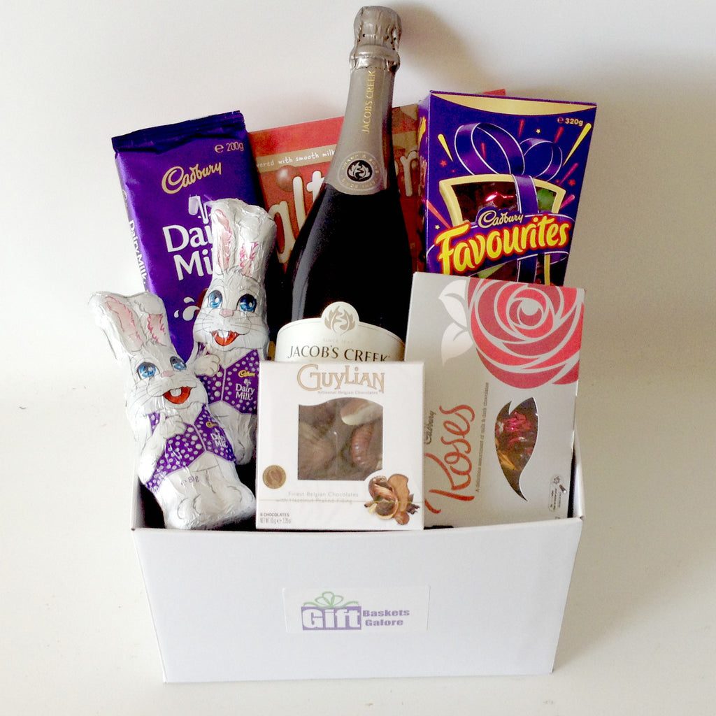 Easter baskets perth gift baskets galore perth wa men crates bubbly bunny easter box negle Choice Image