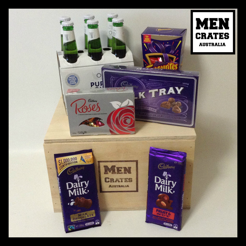 Cadbury Chocolate Beer Crate