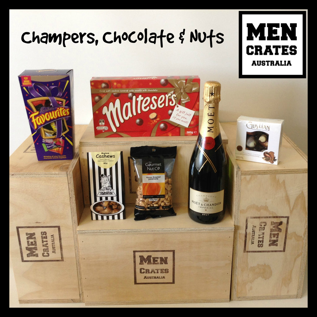 Champers, Chocolate & Nuts