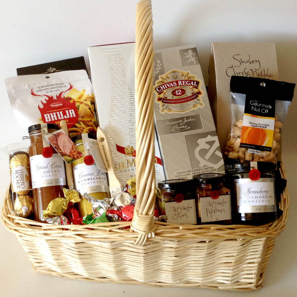All products chivas gift baskets galore perth wa men crates champagne chivas deluxe gift basket negle Images