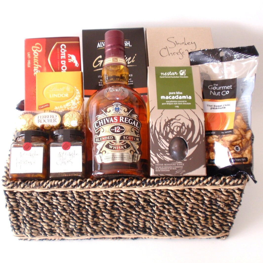 Chivas Regal Treats Gift Basket