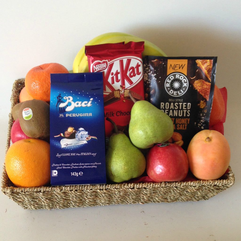 Choc, Fruit & Nuts Basket