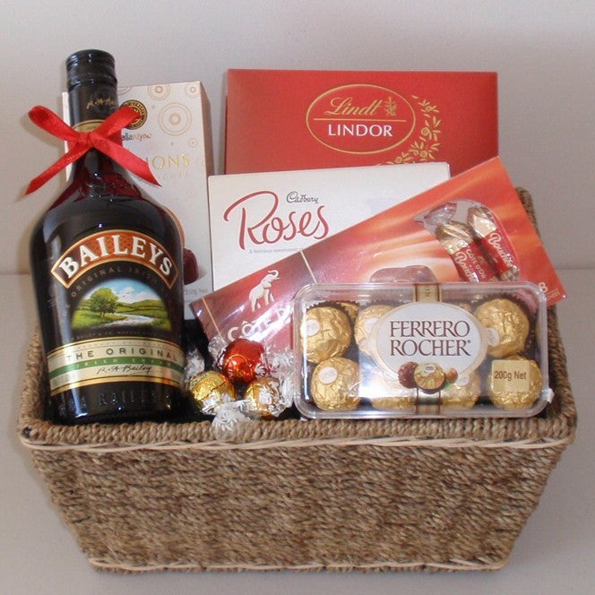 Chocolate & Baileys Gift Basket