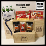 Chocolate, Beer & Nuts Crate