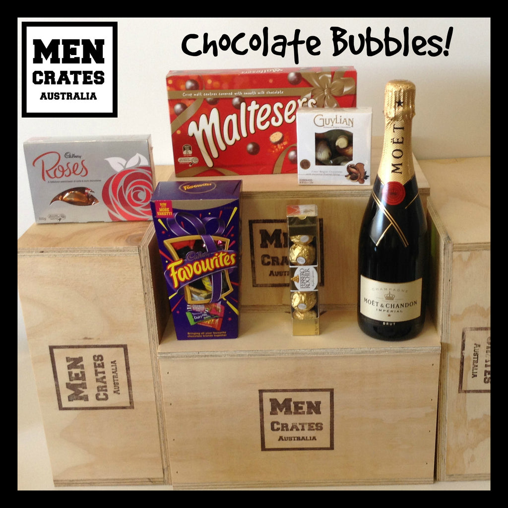 Chocolate Bubbles Crate