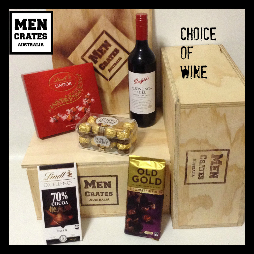 Chocolate and Wine Crate