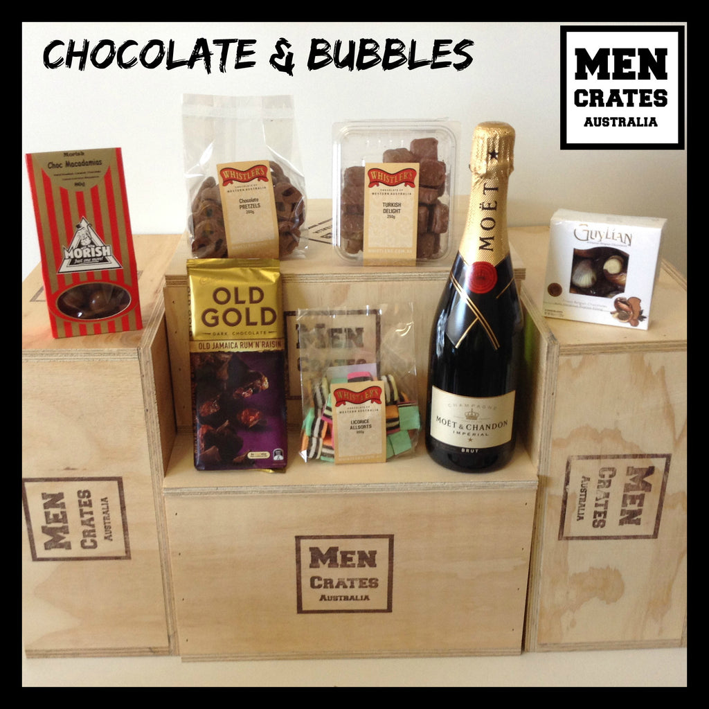 Chocolate and Bubbles Crate