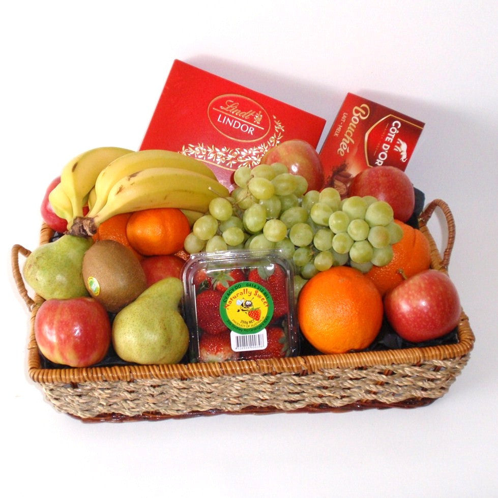 Fruit hampers perth fruit baskets perth gift baskets galore wa chocolate fruit delicious gift basket negle Image collections