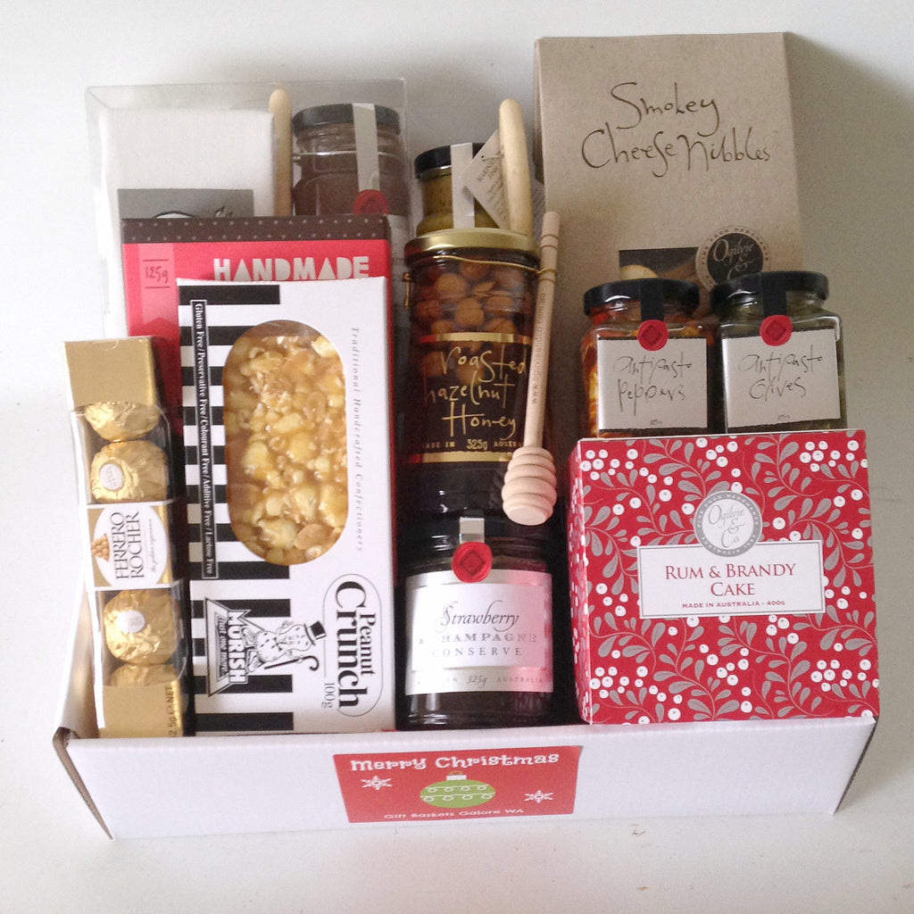 All products christmas hamper no alcohol gift baskets galore christmas share box 14900 christmas wishes gift box negle Image collections